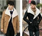 Làm đẹp cho chàng với áo khoác Hàn Quốc