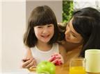 Lưu ý thức ăn cho trẻ