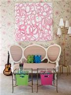 9 căn phòng màu hồng đẹp khó cưỡng