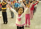 Tập thể dục giúp trẻ học tốt hơn