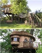 18 căn nhà từ gỗ độc đáo trên thế giới