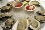 Những loài hải sản không tốt cho sức khỏe