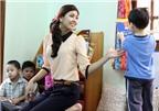 Nguyễn Thị Loan làm cô nuôi dạy trẻ