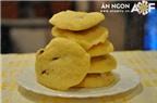 Làm bánh quy bằng lò vi sóng thật ngon và dễ dàng