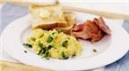 Thịt lợn xông khói và trứng tốt cho trí não thai nhi