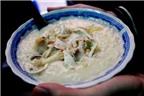 Cháo đậu xanh thơm ngon phố Bạch Mai
