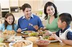 Không nên la mắng con trong bữa cơm gia đình