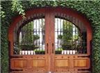 Cách làm cổng cho nhà vườn đẹp và phù hợp phong thủy