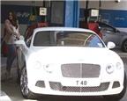 Ái nữ của tỷ phú F1 lái siêu xe Bentley