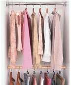 17 mẹo nhỏ cho tủ quần áo ngăn nắp