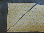 Cách làm nẹp vải và ứng dụng may túi đựng đồ trong suốt