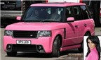 Top 12 chiếc xe màu hồng dành cho người giàu