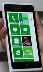 Trải nghiệm ban đầu với Nokia Lumia 900
