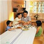 Những lợi ích về sức khỏe cho các thành viên từ bữa cơm gia đình