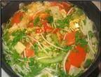 Lạ miệng ngon cơm với canh chua bắp cải