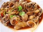 6 món ăn từ ngao sò bổ thận tráng dương