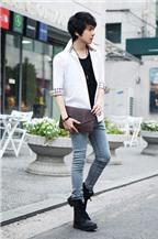 Đa phong cách với túi xách như trai Hàn