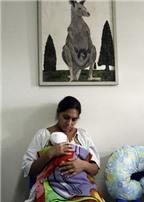 Phương pháp bế Kanguru cho trẻ sinh non