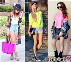 Bốn phong cách với quần jean ngắn