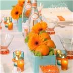 Tangerine Tango – Xu hướng theme cưới 2012