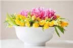 Cắm hoa đặt bàn tiệc, đẹp và ấn tượng