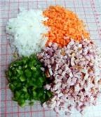 Cơm rang cuộn ăn theo phong cách Hàn
