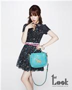 Tiffany SNSD đa phong cách cùng túi xách