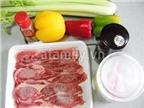 Thịt bò xào rau củ bổ sung dưỡng chất