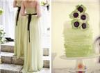 Bánh cưới và váy cưới - sự giống nhau thú vị