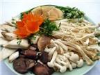 Trẻ em có nên ăn nấm thay thế thịt cá?