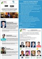 """HaNoi Pitch Bootcamp với chủ đề """"Kinh nghiệm thuyết phục Nhà đầu tư"""""""