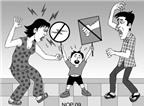 Đừng vung roi dạy con