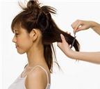 Chăm sóc thông minh cho mái tóc chẻ ngọn