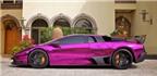 Độc đáo siêu xe Lamborghini mạ crôm tím