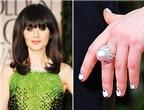 8 kiểu nail độc đáo của Zooey Deschanel
