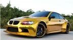 BMW M3 mạ vàng bóng loáng