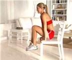 Bài tập cơ bụng chỉ với một chiếc ghế