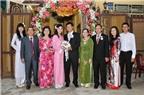 Gợi ý trang phục cho mẹ trong đám cưới