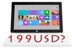 Giá Microsoft Surface tương đương với máy tính cá nhân