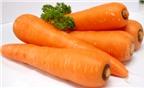 Cà rốt chữa suy nhược cơ thể