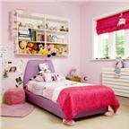 Bài trí hợp lý các vật dụng trong phòng ngủ của bé