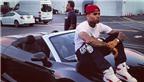 Rapper Chris Brown sắm siêu xe Audi R8 V10 Spyder