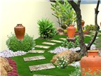 Bí quyết chọn vật dụng sân vườn hợp phong thủy