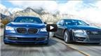 BMW Alpina B7 và Audi S8: Ai là vua trên đường?