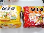Mì ăn liền Hàn Quốc chứa chất gây ung thư