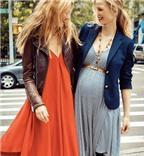 Bí quyết mặc đẹp cho những tháng đầu mang thai
