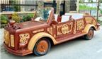 Độc đáo ô tô gỗ