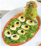 Siêu hấp dẫn các món ăn ngày Halloween