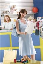 Mẹo sắm đồ tiết kiệm trước khi sinh cho mẹ bầu