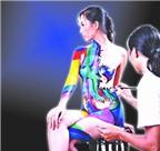 Nghệ thuật body painting, đẹp hay dung tục?